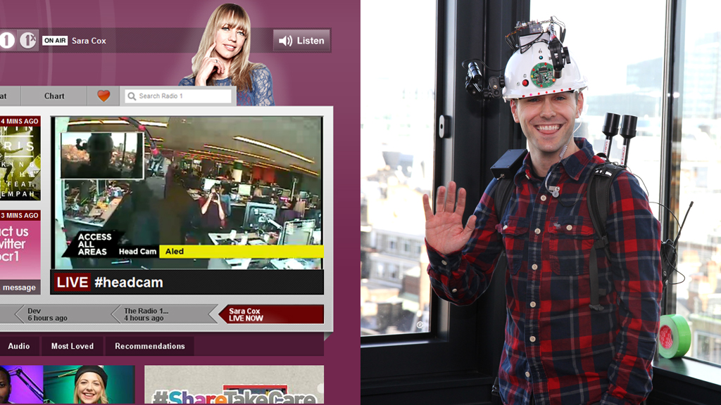 Aled at Radio 1