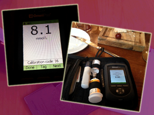 Omnipod PDM Meter